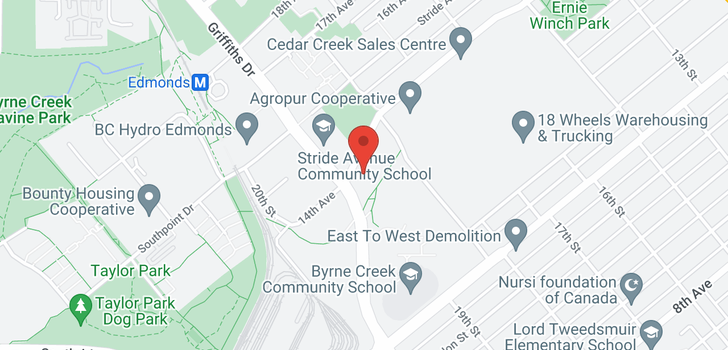 map of 417 7088 14TH AVENUE