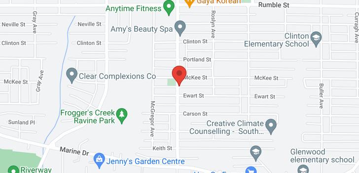 map of 5113 EWART STREET