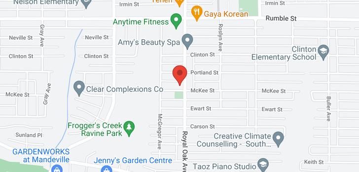 map of 5181 MCKEE STREET