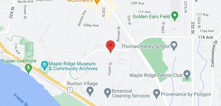 map of 404 11519 BURNETT STREET
