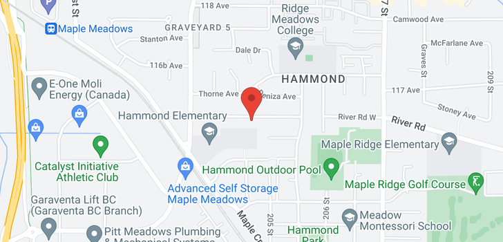map of 20434 116 AVENUE