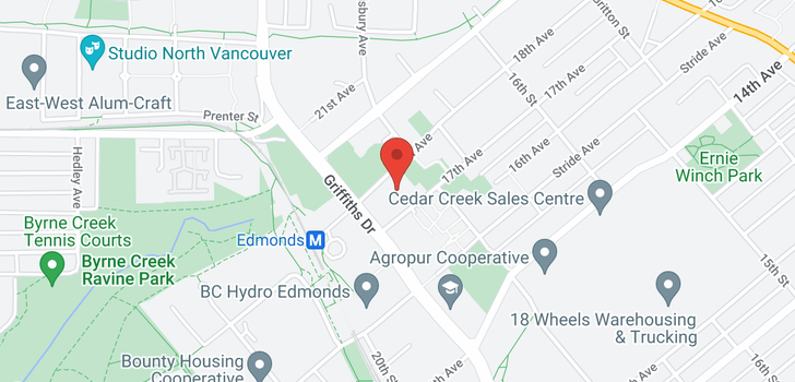 map of 2802 7088 18TH AVENUE