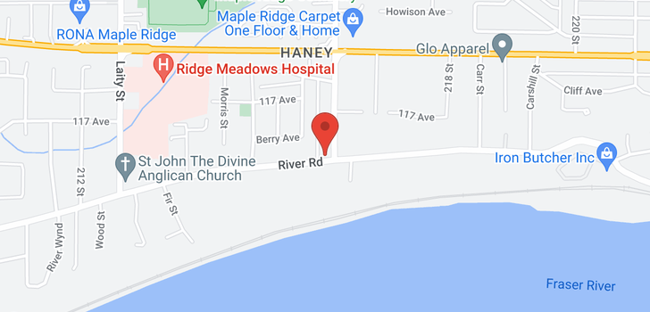 map of 21585 RIVER ROAD