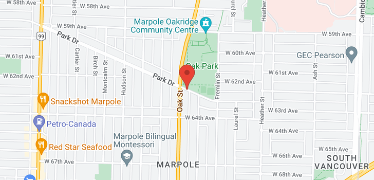 map of 986 PARK DRIVE
