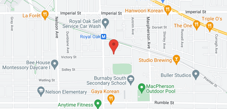 map of 5281-83 VICTORY STREET
