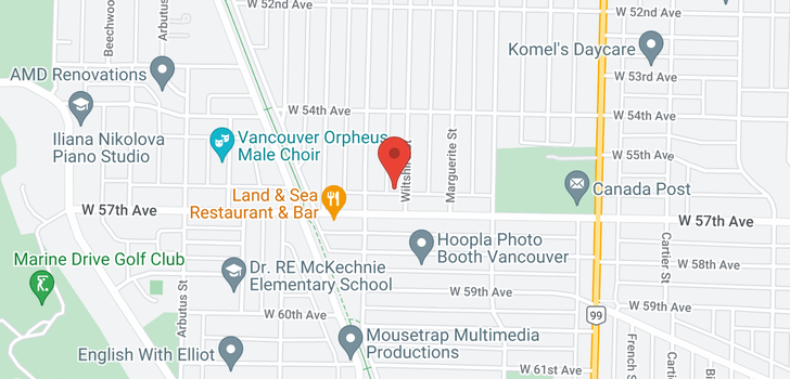 map of 7249 WILTSHIRE STREET