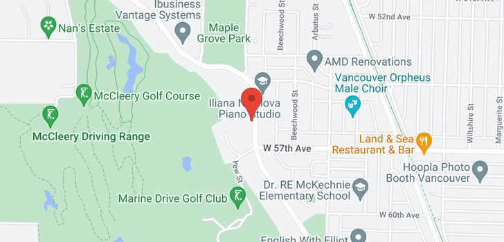 map of 2230 SW MARINE DRIVE