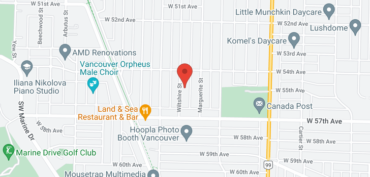 map of 7112 WILTSHIRE STREET