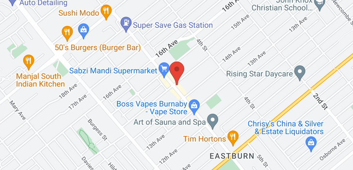 map of 204 7908 15TH AVENUE
