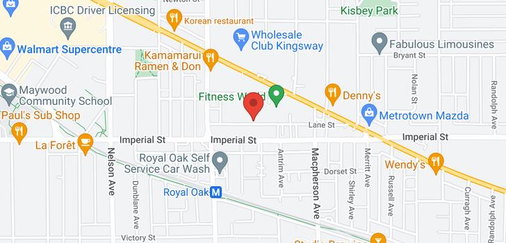 map of PH25 5355 LANE STREET