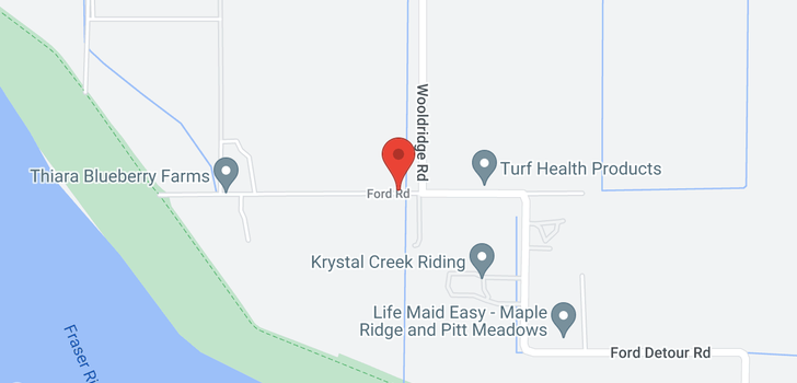 map of 17162 FORD ROAD