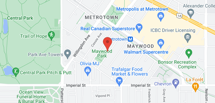 map of 704 6463 SILVER AVENUE