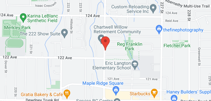 map of 421 12238 224 STREET