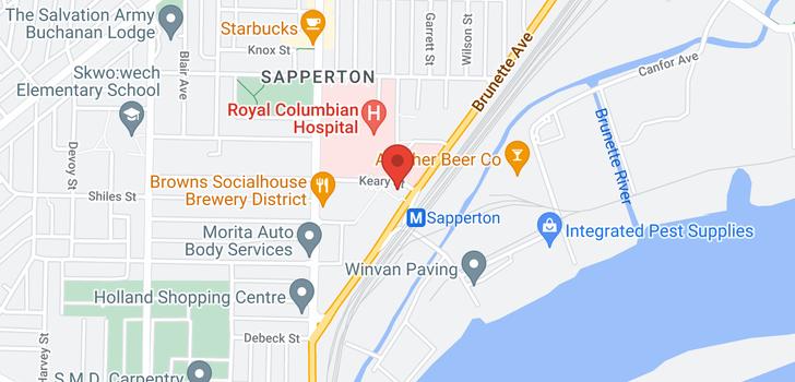 map of 804 200 KEARY STREET