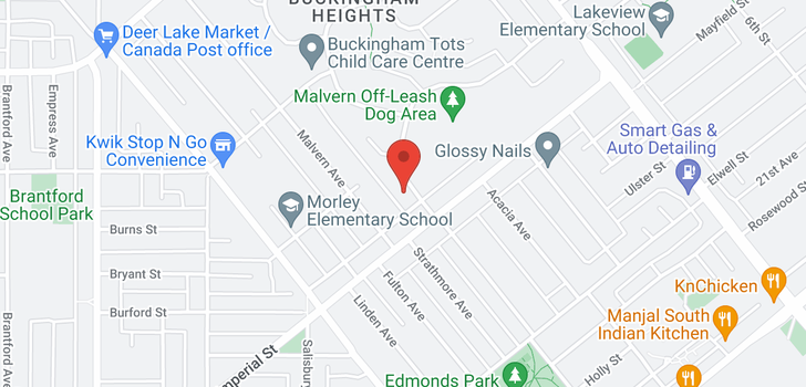map of 7409 MORLEY DRIVE