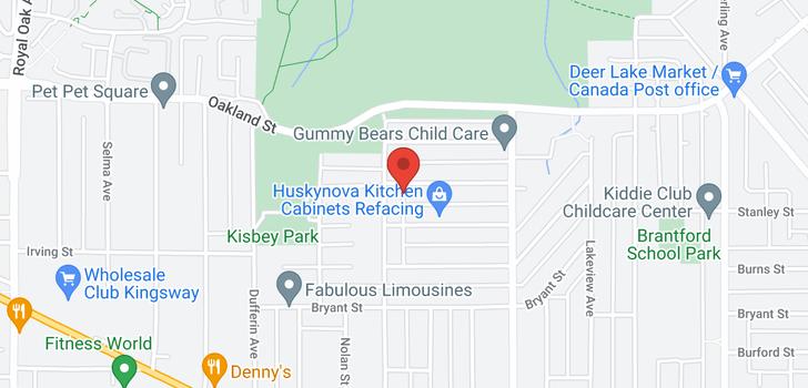 map of 6042 BERWICK STREET
