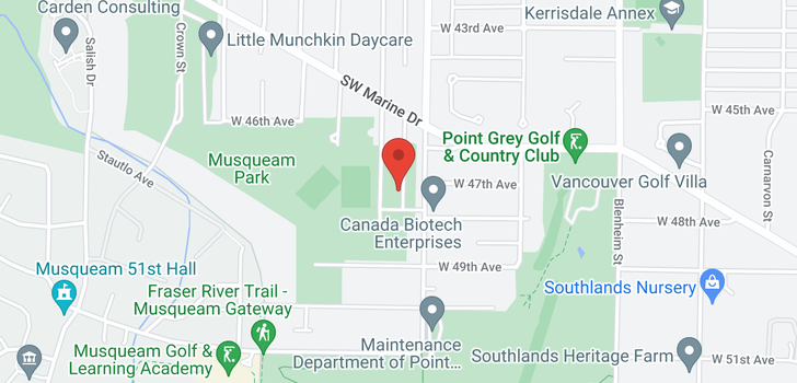 map of 3651 W 48TH AVENUE