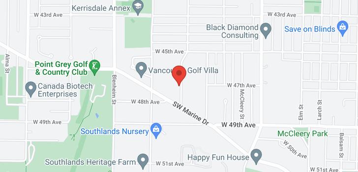 map of 6289 CARNARVON STREET