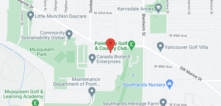 map of 3521 W 47TH AVENUE