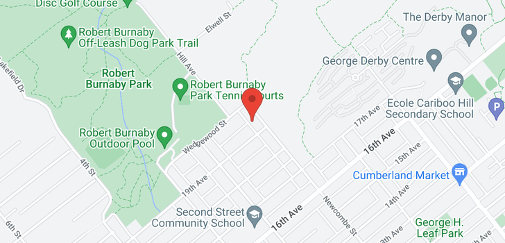 map of 7257 NEWCOMBE STREET