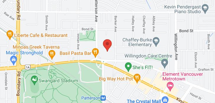 map of 2105 4160 SARDIS STREET