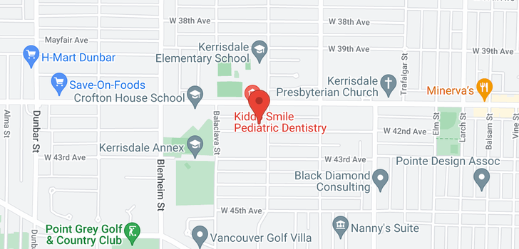 map of 3033 W 42ND AVENUE