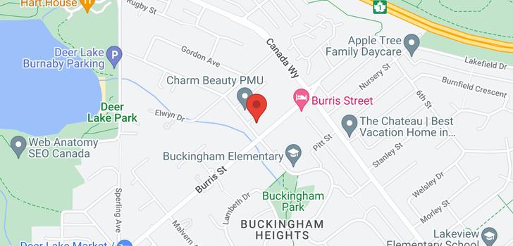 map of 5876 BUCKINGHAM AVENUE