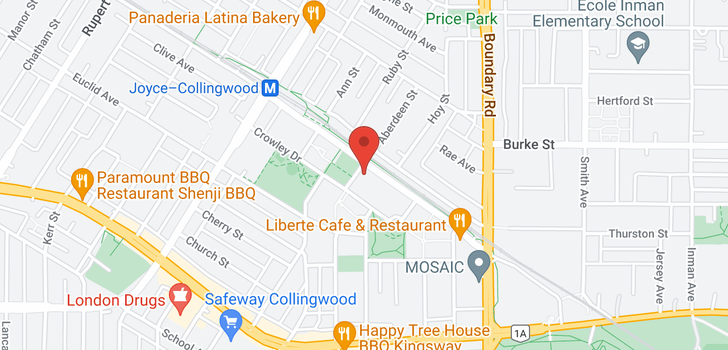 map of 1509 5288 MELBOURNE STREET