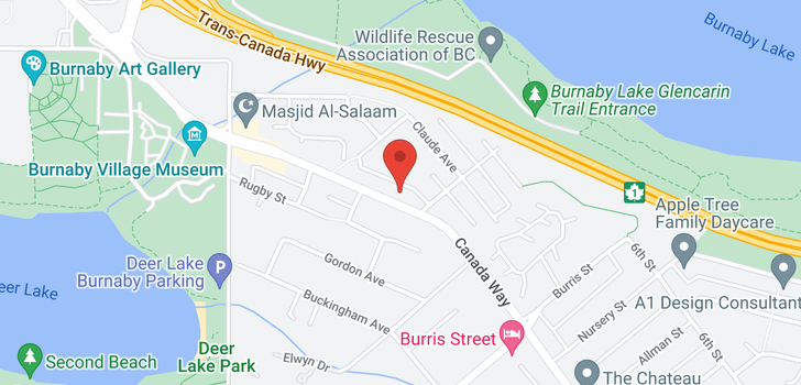 map of 5410 CANADA WAY