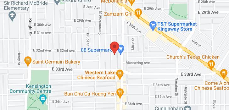 map of 4810 BEATRICE STREET