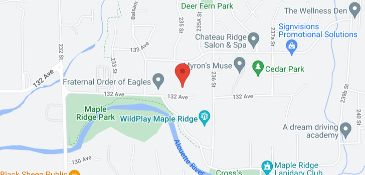 map of 23517 132 AVENUE