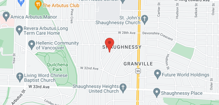 map of 4537 BEVERLY CRESCENT