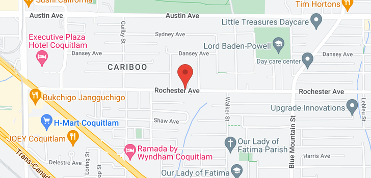 map of 1 725 ROCHESTER AVENUE