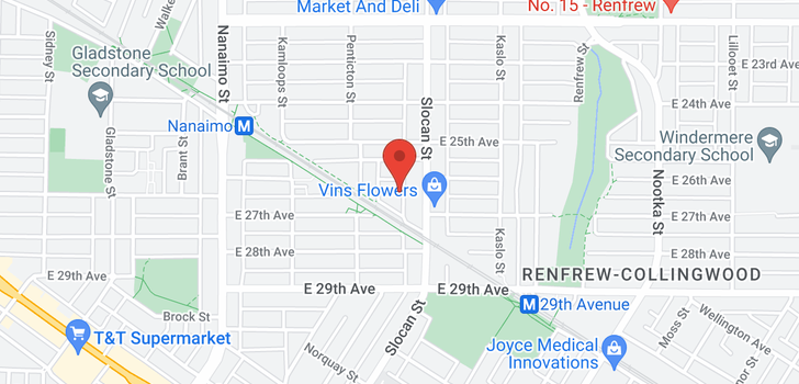 map of 2675 VANNESS AVENUE