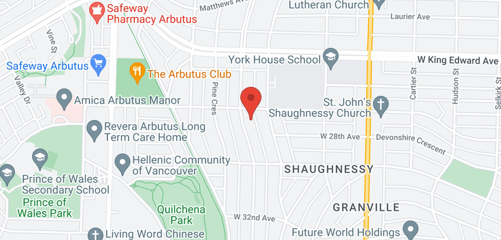 map of 4326 ANGUS DRIVE