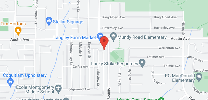 map of 478 MUNDY STREET
