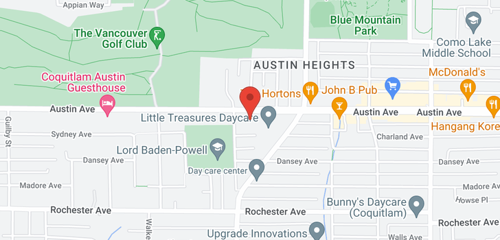 map of 925 AUSTIN AVENUE