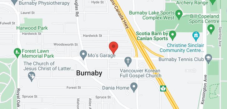 map of 5935 SPROTT STREET