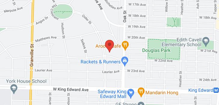 map of 3776 OSLER STREET