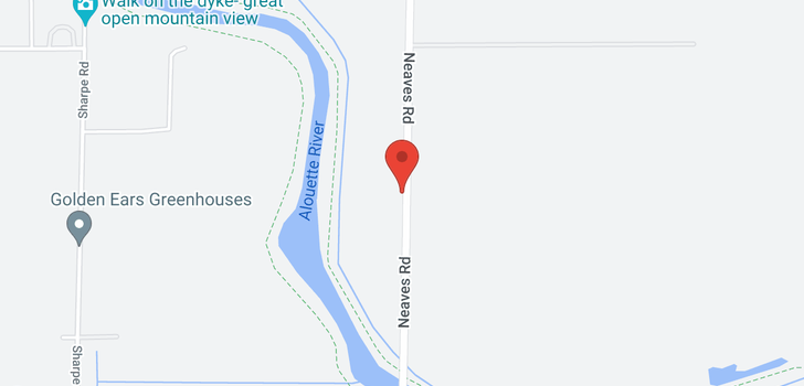 map of 13807 NEAVES ROAD
