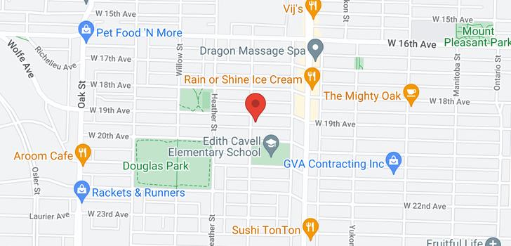 map of 3500 ASH STREET
