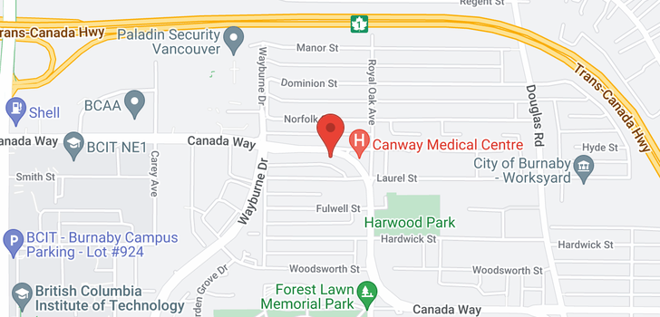 map of 4670 CANADA WAY