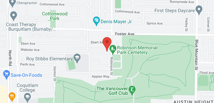 map of 729 IVY AVENUE