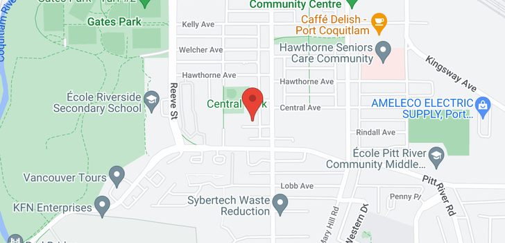 map of 211 2345 RINDALL AVENUE