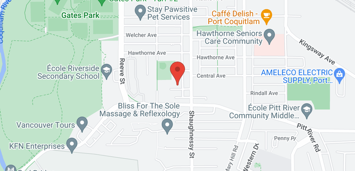 map of 210 2345 RINDALL STREET