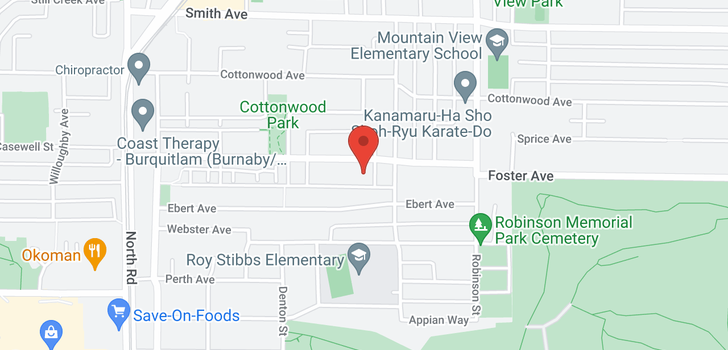 map of 630 FOSTER AVENUE