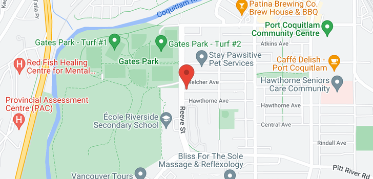 map of 110 2477 KELLY AVENUE