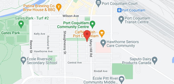 map of 302 2268 SHAUGHNESSY STREET