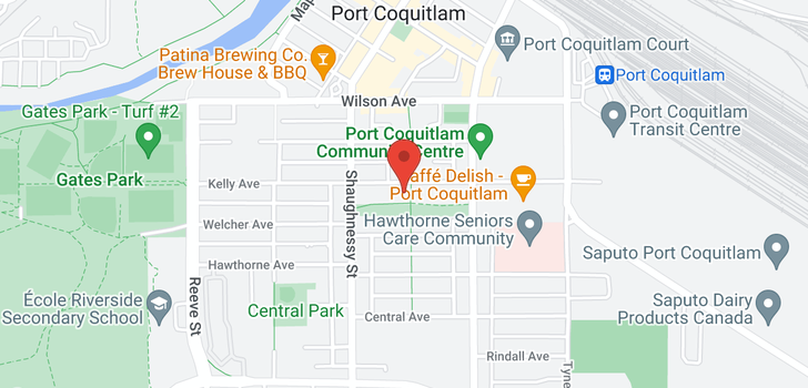 map of 2258 KELLY AVENUE