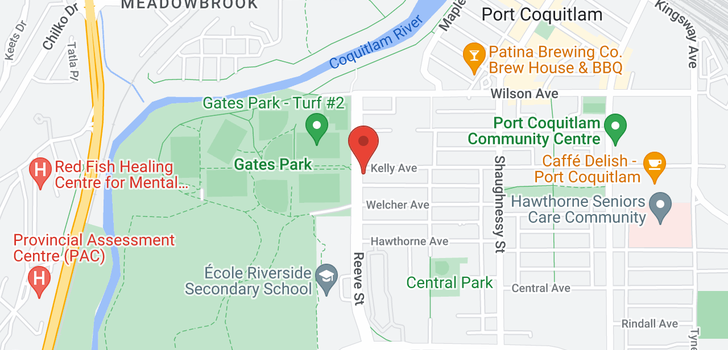 map of 210 2488 KELLY AVENUE